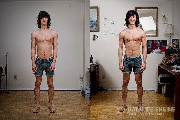 Питание для эктоморфа для набора мышечной массы:спортивное питание.