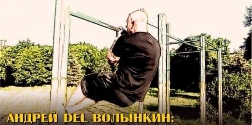 Андрей DEL Волынкин: ПОДТЯГИВАНИЯ НА ОДНОЙ РУКЕ