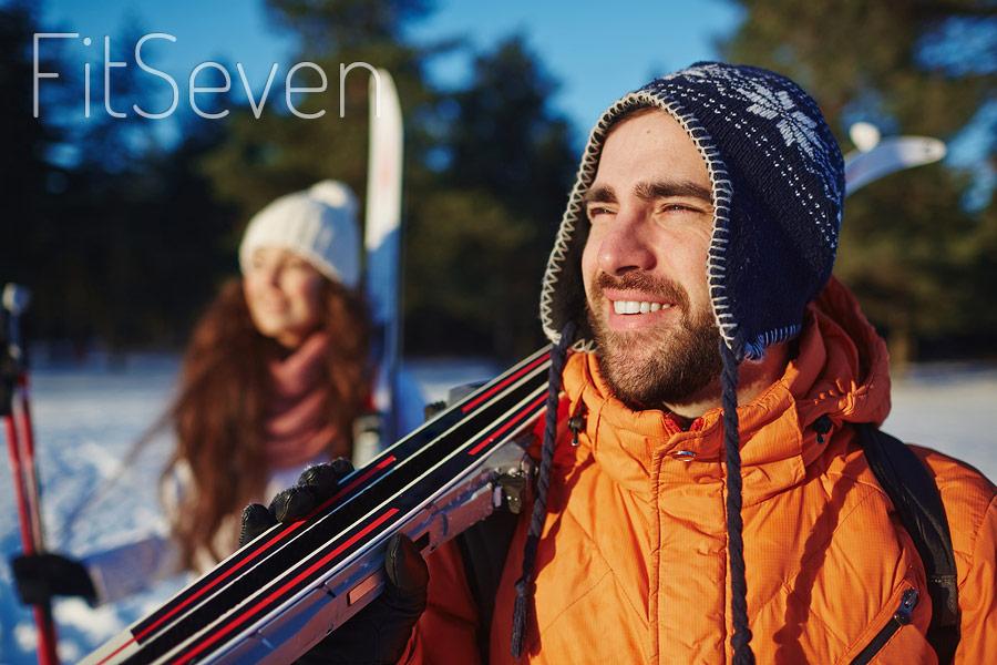 Польза лыжных прогулок